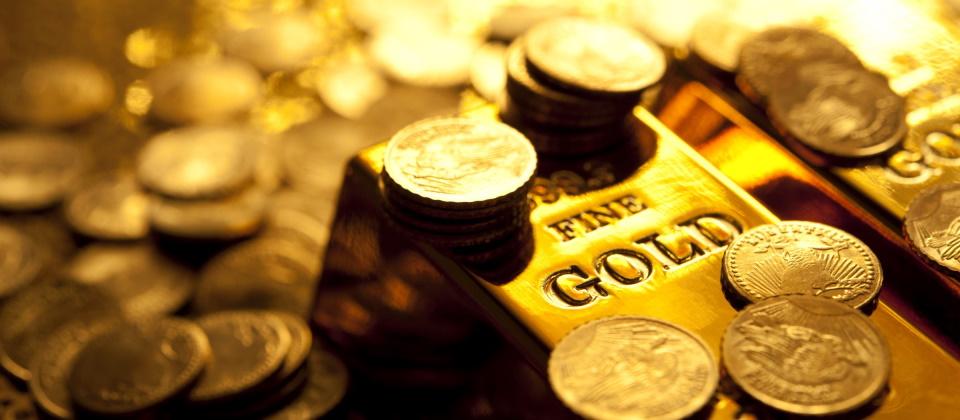 Gold in Münzen & Barren